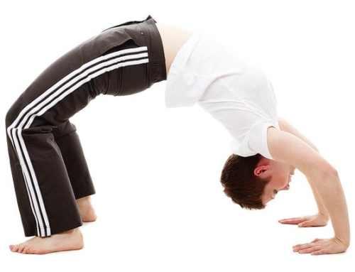 Kampfsport und Yoga