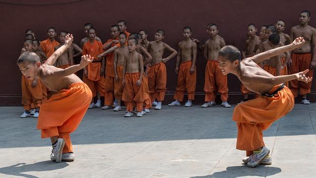 Tierstile im Kung-Fu